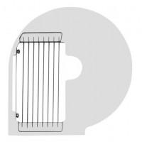 Diskas gruzdintoms bulvytėms pjaustyti - 10 mm - 280614