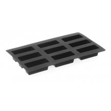 Silikoninės kepimo formos - mini-cake x 9 - 80x30x33 mm - 677001