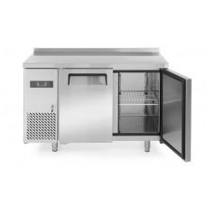2 durų šaldymo stalas kitchen line 600, agregatas įmontuotas šone - 1200x600x850 mm - 233344