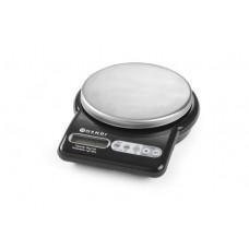 Virtuvinės elektroninės svarstyklės iki 5 kg - 170x215x55 mm - 580004