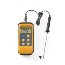 Skaitmeninis termometras su zondu, atsparus smūgiams - 85x195x45 mm - 271407
