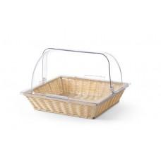 Duonos ir kepinių krepšelis su dangčiu rolltop - 427538