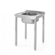 Surenkamas stalas su plautuve - 600x600x850 mm - 811849