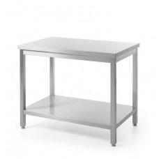 Surenkamas pjaustymo stalas su lentyna - 1000x600x850 mm - 811511